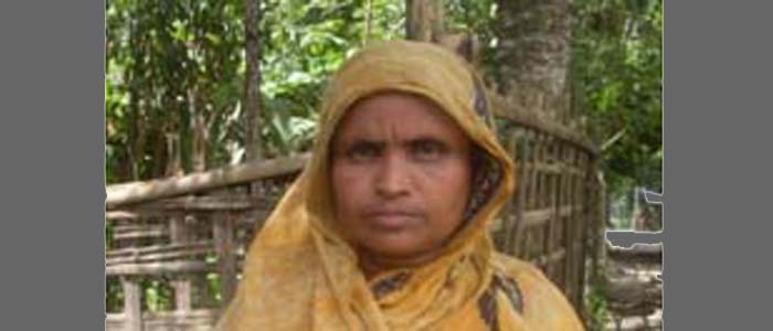 Hasina Begum's Awareness Ensured the Treatment for her Sister-in-Law
